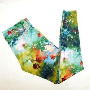Onzie Galaxy Nature Floral Yoga Leggings M / L